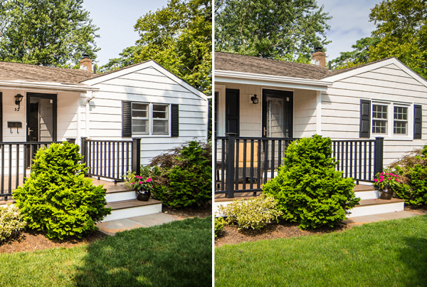 Before And After Front Porch