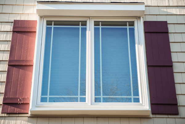 Panel Windows With Shutters