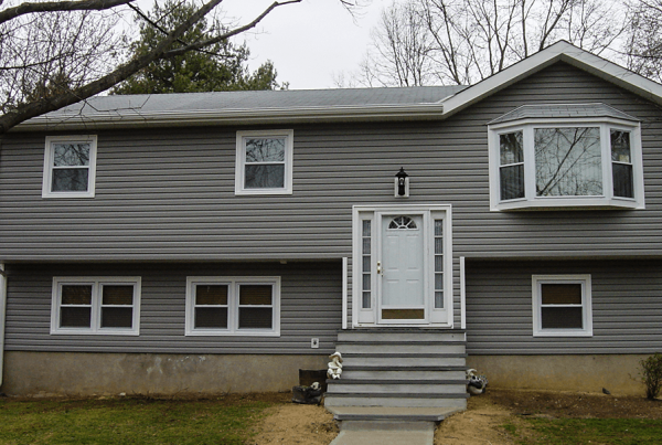 Gray Home Siding