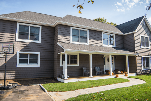 Vinyl Siding And Overhang