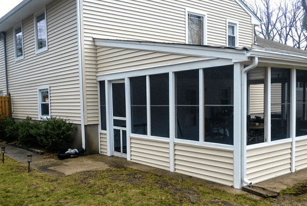 Vinyl Siding On Sunroom
